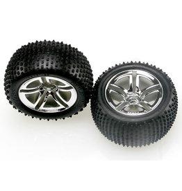 Traxxas 5572R - Twin-Spoke Wheels / Alias Tires