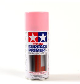 Tamiya 87146 - Fine Surface Primer L Pink 180ml Spray Can