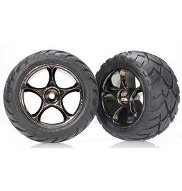 "Traxxas 2478A - Tracer 2.2"" Black Chrome Wheels / Anaconda® 2.2"" Tires"