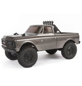 Axial 1/24 SCX24 1967 Chevrolet C10 4WD Truck Brushed RTR - Dark Silver