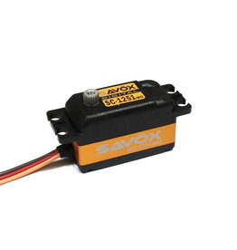 Savox SAVSC1251MG - Low Profile Digital Servo 0.09sec / 125oz @ 6V