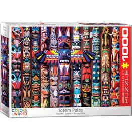 Eurographics Totem Poles - 1000 Piece Puzzle
