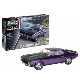 Revell of Germany 07664 - 1/25 1970 Plymouth AAR Cuda