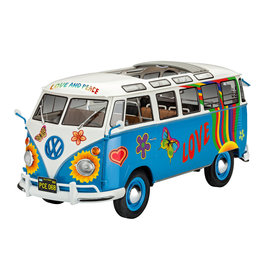 Revell of Germany 07050 - 1/24 VW T1 Samba Bus Flower Power