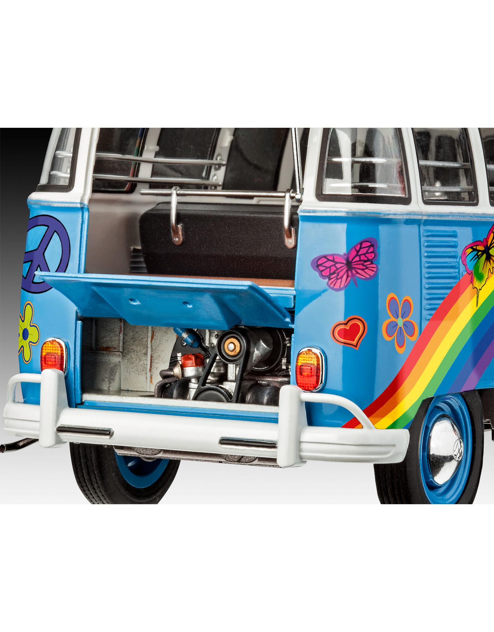 Revell VW T1 Samba Bus Flower Power 1:24 Revell 07050