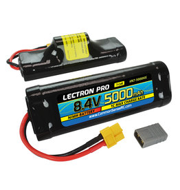 Common Sense RC N7-5000HX - 8.4V (7-cell) 5000mAh Hump Pack with XT60 Connector + CSRC Adapter