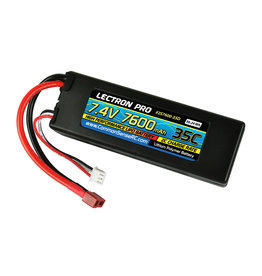 Common Sense RC 2S7600-35D - 7.4V 7600mAh 35C Lipo Battery with Deans-Type Connector