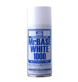 Mr. Hobby B518 - Mr. Base White 1000 Spray Can