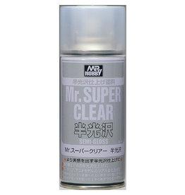 Mr. Hobby B516 - Mr. Super Clear Semi-Gloss Spray Can