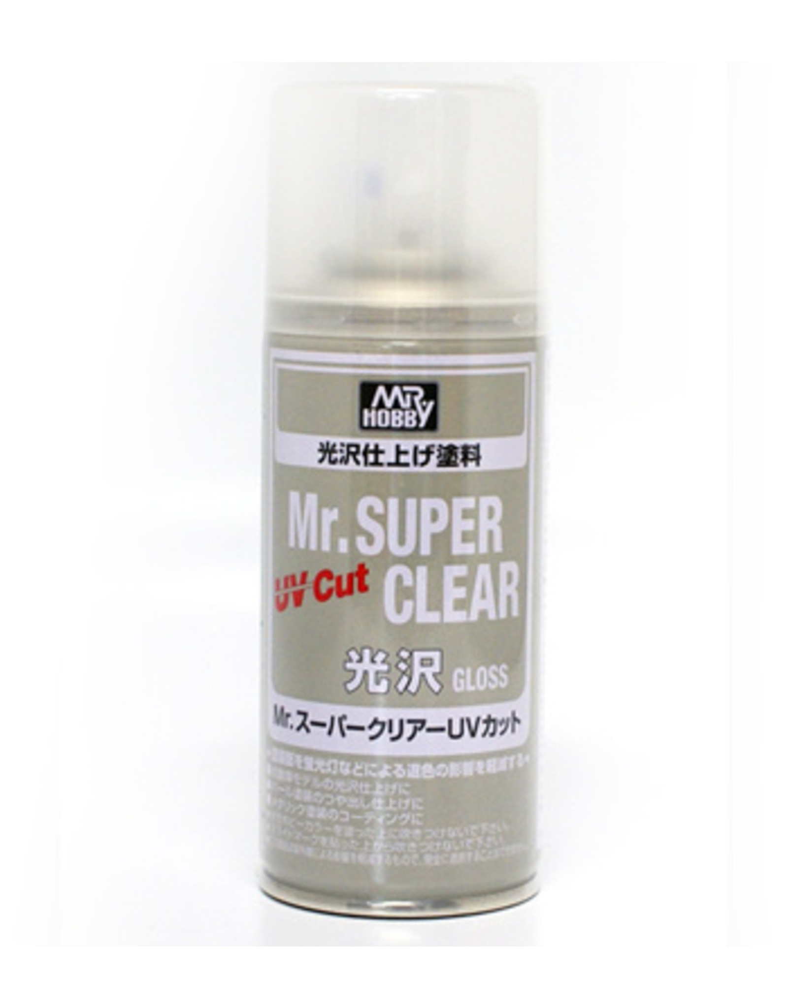 B522 Mr Super Clear Uv Cut Gloss Spray Can Hub Hobby