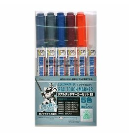 Mr. Hobby GMS112 - Real Touch Marker Set 1 (6 Pack)