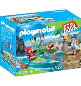 Playmobil 70035 - Starter Pack - Kayak Adventure