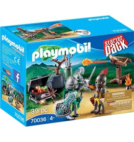 Playmobil 70036 - Starter Pack - Knight's Treasure Battle