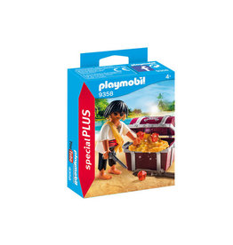 Playmobil 9358 - Pirate with Treasure Chest