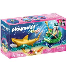 Playmobil 70097 - King of The Sea with Shark Carriage