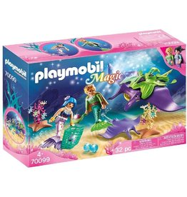 Playmobil 70099 - Pearl Collectors with Manta Ray