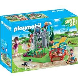 Playmobil 70010 - Super Set - Family Garden