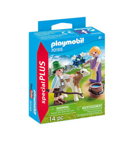 Playmobil 70155 - Children with Calf