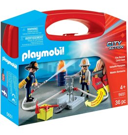 Playmobil 5651 - Carry Case - Fire Rescue