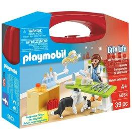 Playmobil 5653 - Carry Case - Vet Visit