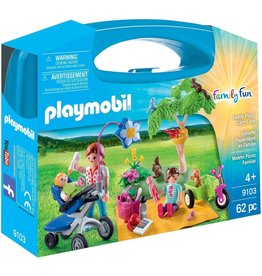 Playmobil 9103 - Carry Case - Family Picnic