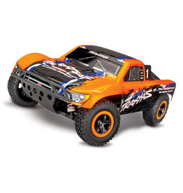 Traxxas 1/10 Slash 4X4 VXL TSM 4WD Brushless RTR Short Course Truck - Orange