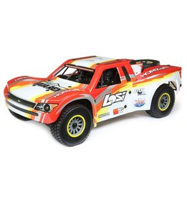 Losi 1/6 Super Baja Rey 4WD Desert Truck Brushless RTR with AVC - Red