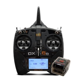 Spektrum SPM6655 - DX6e 6-Channel DSMX Transmitter with AR620