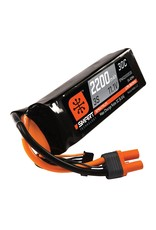 Spektrum SPMX22003S30 - 11.1V 2200mAh 3S 30C Smart LiPo Battery: IC3