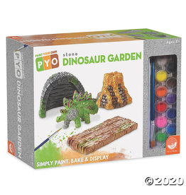 Mindware Paint Your Own: Stone Dinosaur Garden