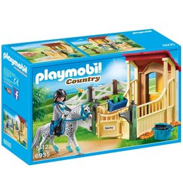 Playmobil 6935 - Horse Stable with Appaloosa