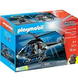 Playmobil 5675 - Tactical Unit Chopper