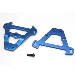 Traxxas 5323 - Front & Rear Aluminum Bulkhead Tie Bars - Blue