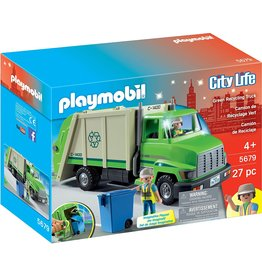 Playmobil 5679 - Green Recycling Truck