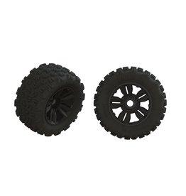 Arrma ARA550061 - Dboots 'Copperhead2 SB MT' Tire Set - Glued