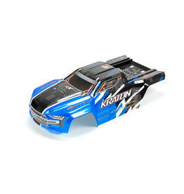 Arrma ARA406157 - Kraton 6S BLX Painted Decaled Trimmed Body - Blue