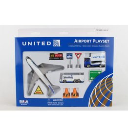 Daron Playset - United Airlines