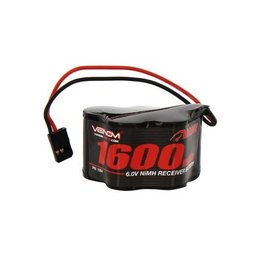 Venom Racing VNR1504 -  6.0V 1600mAh 5-Cell DRIVE NiMH Hump Receiver Battery: Universal Receiver