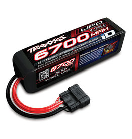Traxxas 2890X - 6700mAh 14.8V 4S 4-Cell LiPo Battery