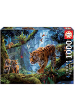 Educa Tigers in the Tree - 1000 Piece Puzzle