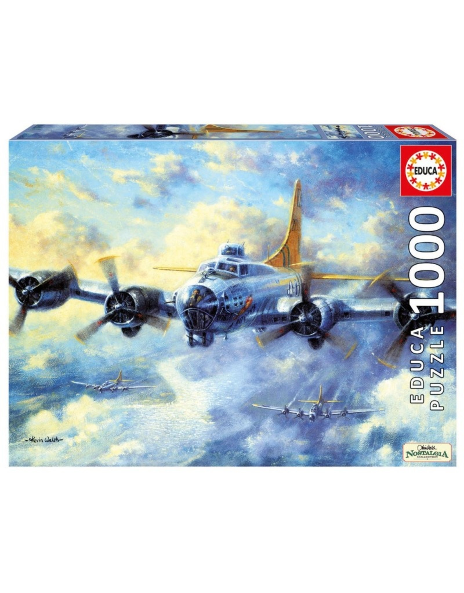 Educa B17G Flying Fortress - 1000 Piece Puzzle
