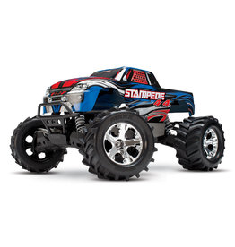 Traxxas 1/10 Stampede 4X4 RTR Brushed 4WD Monster Truck - Blue