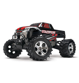 Traxxas 1/10 Stampede 4X4 RTR Brushed 4WD Monster Truck - Black