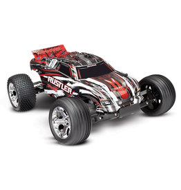 Traxxas 1/10 Rustler XL-5 2WD RTR Stadium Truck - Red