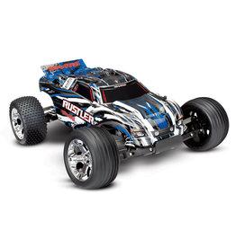 Traxxas 1/10 Rustler XL-5 2WD RTR Stadium Truck - Blue