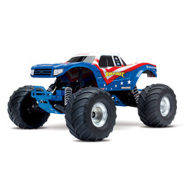 Traxxas 1/10 Bigfoot Modern 2WD RTR Monster Truck - Red, White, and Blue
