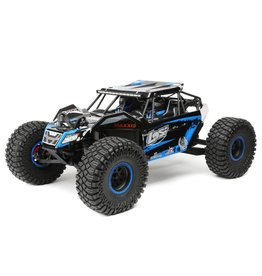 Losi 1/10 Rock Rey 4WD Brushless RTR with AVC - Blue
