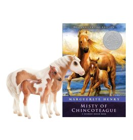 Breyer Misty & Stormy - Model and Book Set