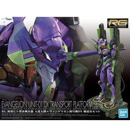 Bandai Evangelion Unit-01 DX Transport Platform Set RG