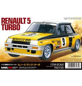 Tamiya 47435 - 1/12 Renault 5 Turbo Limited Edition Kit - M-05Ra Chassis